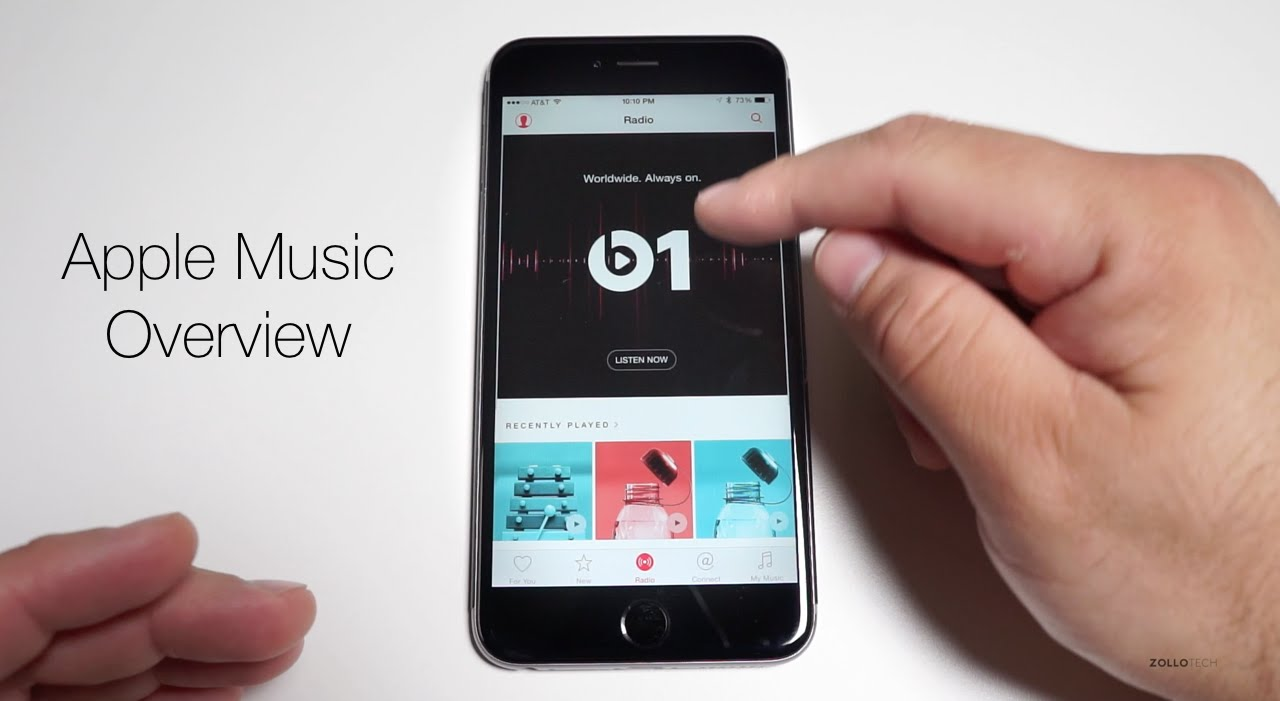 Apple Music Overview - YouTube