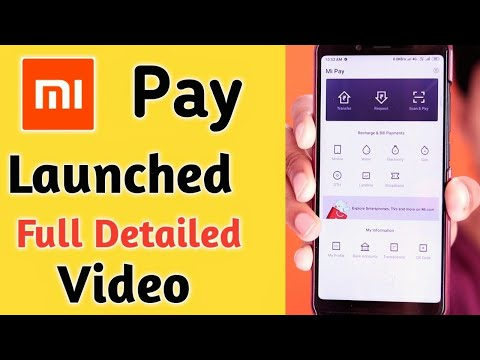 Mi Pay Launched Full Details Recharges Bill Payment ¦ Mi Pay App Download India Hindi ¦ Mi Pay Live