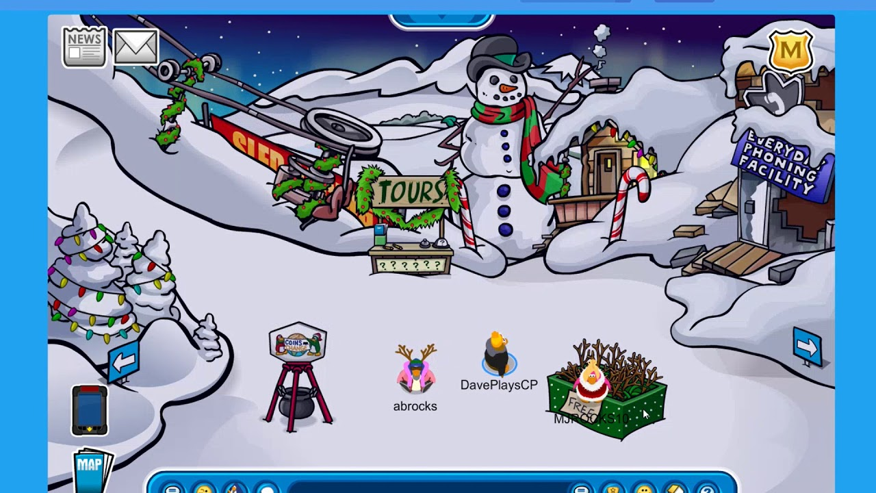 CHRISTMAS PARTY 2017 CLUB PENGUIN