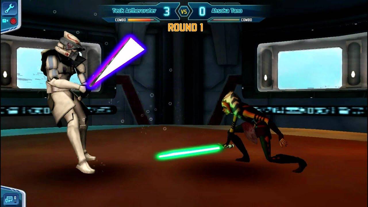Star wars the clone wars adventures: Episode 2 Lightsaber ...