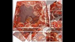 Soft Korean Satin Silk Square Scarf/Scarves with Italian Design
