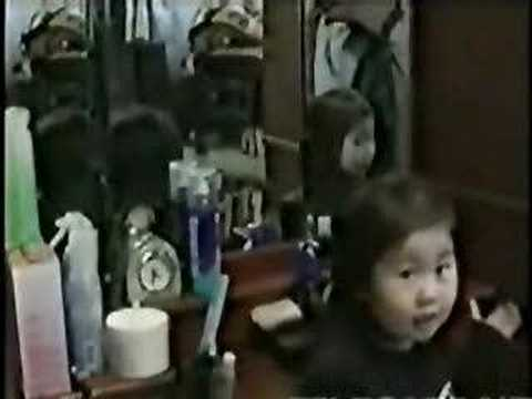 Japanese Ghost Girl in Mirror