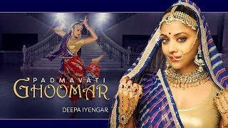 Ghoomar - Padmavati | Bollywood Dance Choreography | Deepa Iyengar
