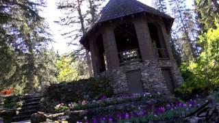 Cascades of Time Gardens  - Banff, Alberta -  YouTube