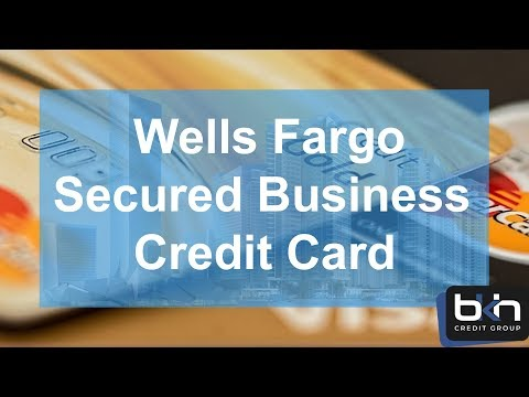 Wells Fargo Secured Business Credit Card