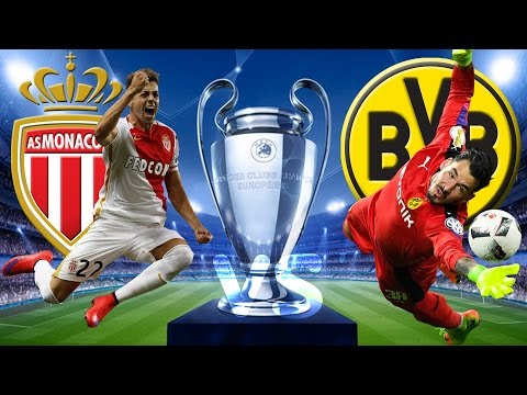 AS MONACO vs BVB BORUSSIA DORTMUND 3:1 Champions League Viertelfinale Rückspiel