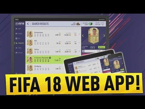 FIFA 18 WEB APP RELEASE DATE CONFIRMED? & WEB APP TRADING TIPS!