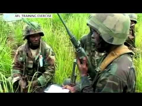 Armed Forces of Liberia on the Rebound:  Jungle Warfare Training Exercise