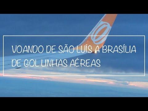 VOANDO DE SÃO LUÍS A BRASÍLIA DE GOL LINHAS AÉREAS - FLIGH REPORT ✈️