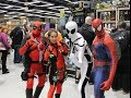 Tubidy Emerald City Comic Con 2014 Vlog as Lady Deadpool