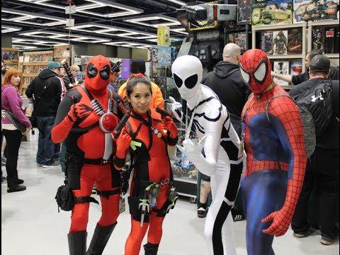Emerald City Comic Con 2014 Vlog as Lady Deadpool - YouTube  Comiccon