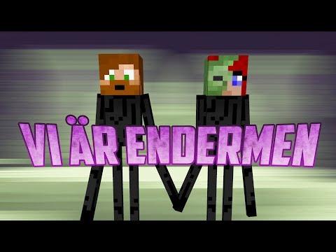 VI ÄR ENDERMEN!   Minecraft Island Games