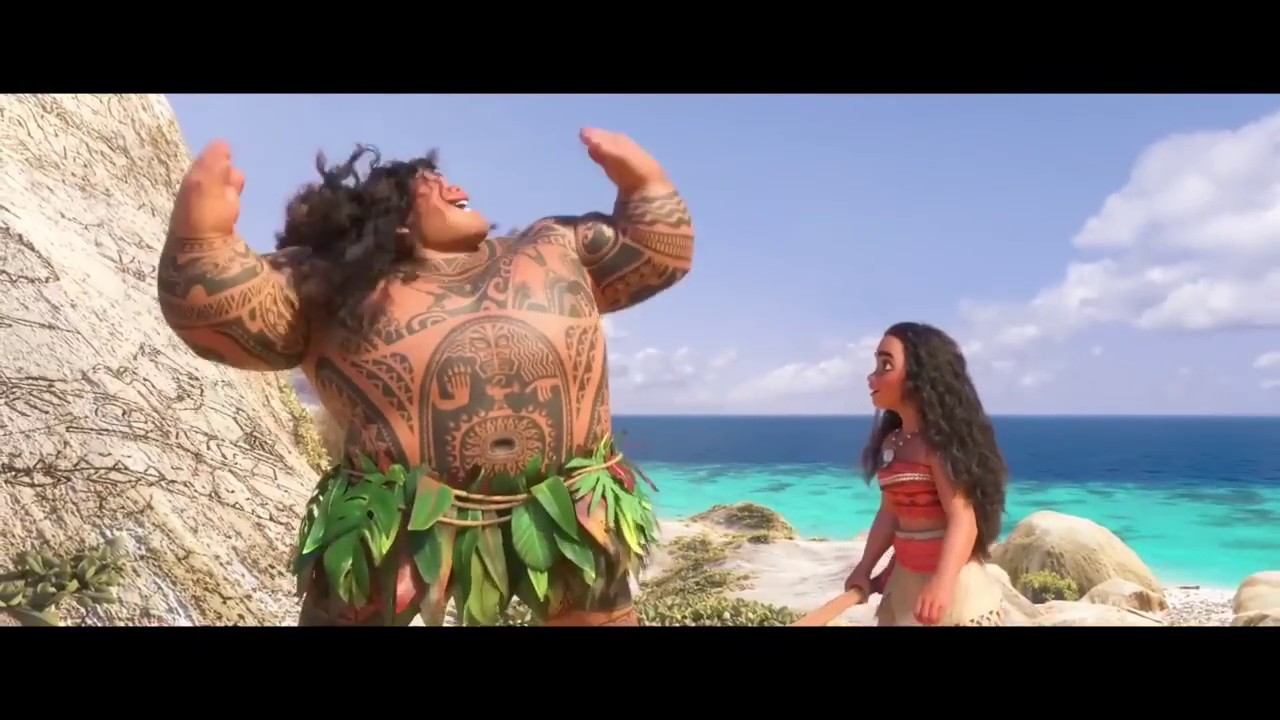 disney s moana you re welcome movie clip maui s song 2016 youtube