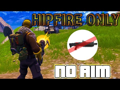 Hipfire Only is actually HARD? Crazy No Scopes