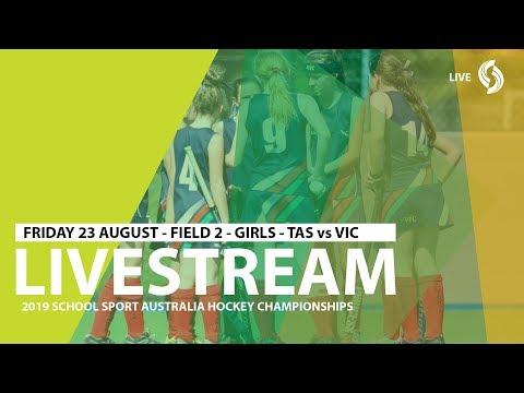 🔴 2019 SSA 12 Years And Under Hockey - Girls - TAS Vs VIC - Field 2 - Game 3