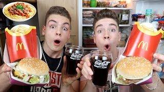 Wir essen 1 Tag lang wie ein ZUSCHAUER Teil 3 (mit McDonald's Menü)