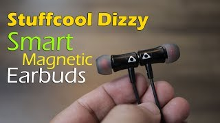 Stuffcool Dizzy Magnetic Smart Earphone separate earbuds to switch on, attach it to switch off