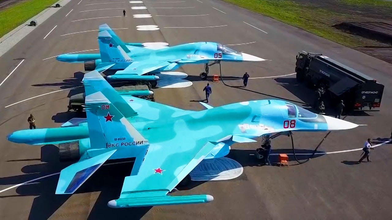 Sukhoi Su-34 Fullback Supersonic Fighter-Bomber (Сухой Су-34)