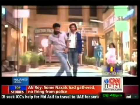 Hrithik Roshan shaking a leg with Prabhu Deva on Reliance ...