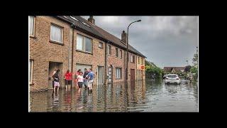 VIDEO. Onweer en zware hagelbuien houden lelijk huis: een overzicht per gemeente