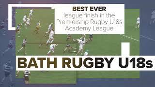 Bath Rugby Pathway season - 2018/19