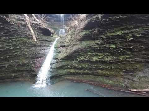 Arkansas Waterfalls: Adkins Canyon Falls