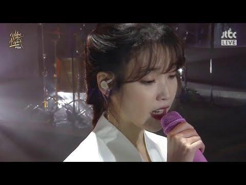 [180110] IU(아이유) _ Through the Night(밤편지) @ Ending Stage/Golden Disc Awards 32nd Day-1