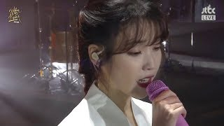 [180110] IU(아이유) _ Through the Night(밤편지) @ Encore/32nd Golden Disc Awards - 1st Day