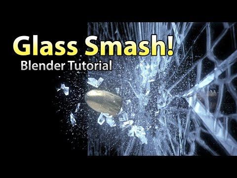 Glass Smash Tutorial - Blender Destruction