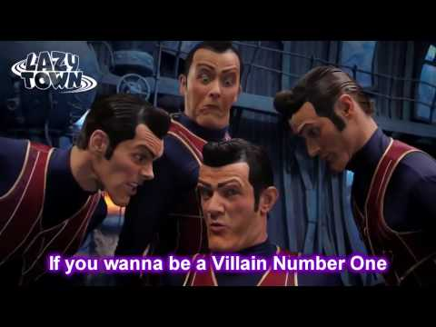 Lazy Town - We Are Number One with lyrics