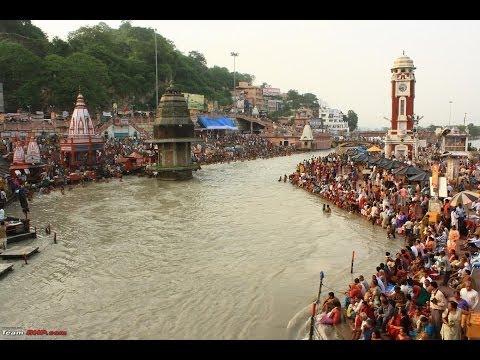 India, Ganges, The River Goddess, Rishikesh , Ganga Ghat. The Sacred Gangess