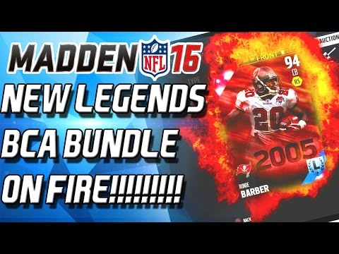 BCA BUNDLES ON FIRE!!!!!!!!! NEW RONDE BARBER! - Madden 16 Ultimate Team