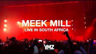 Meek Mill performance in South Africa 2019 #CastleLiteUnlocks