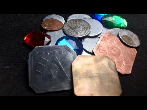 DIY Metal Fantasy Coins - Tabletop Craft # 34
