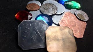 DIY Metal Fantasy Coins - Tabletop Craft # 34