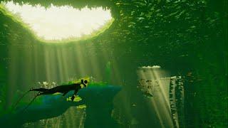 【ゲーム実況】生きもの好き、海の中でゆったりお魚さん天国…!【Vtuber妖怪木守日あぐり】