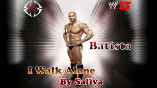 WWE: Batista Theme Song (I Walk Alone) Arena Effects WWE