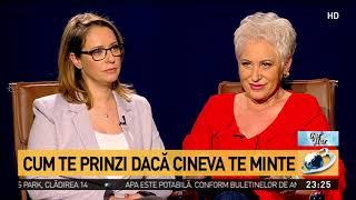Lidia Fecioru, despre cum iti dai seama daca cineva te minte