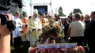 Dożynki Mazowieckie 2014 - poświęcenie wieńców -  Maryjo, ja Twe dziecię