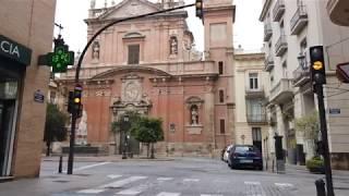 Covid-19 Valencia, Spain - Second Grocery - Puerta del Mar - Glorieta - Calle La Paz - 2020