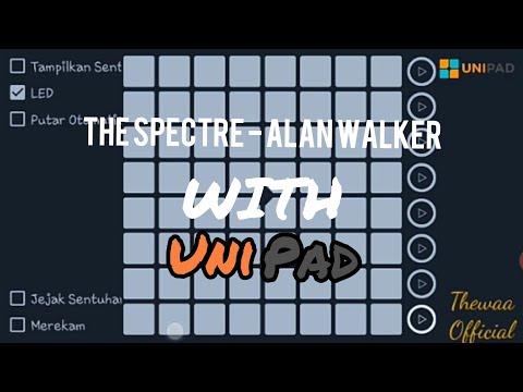 The Spectre - Alan Walker With UNIPAD