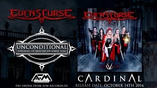 EDEN'S CURSE - Unconditional (feat. Liv Kristine) (2016) // official audio video // AFM Records