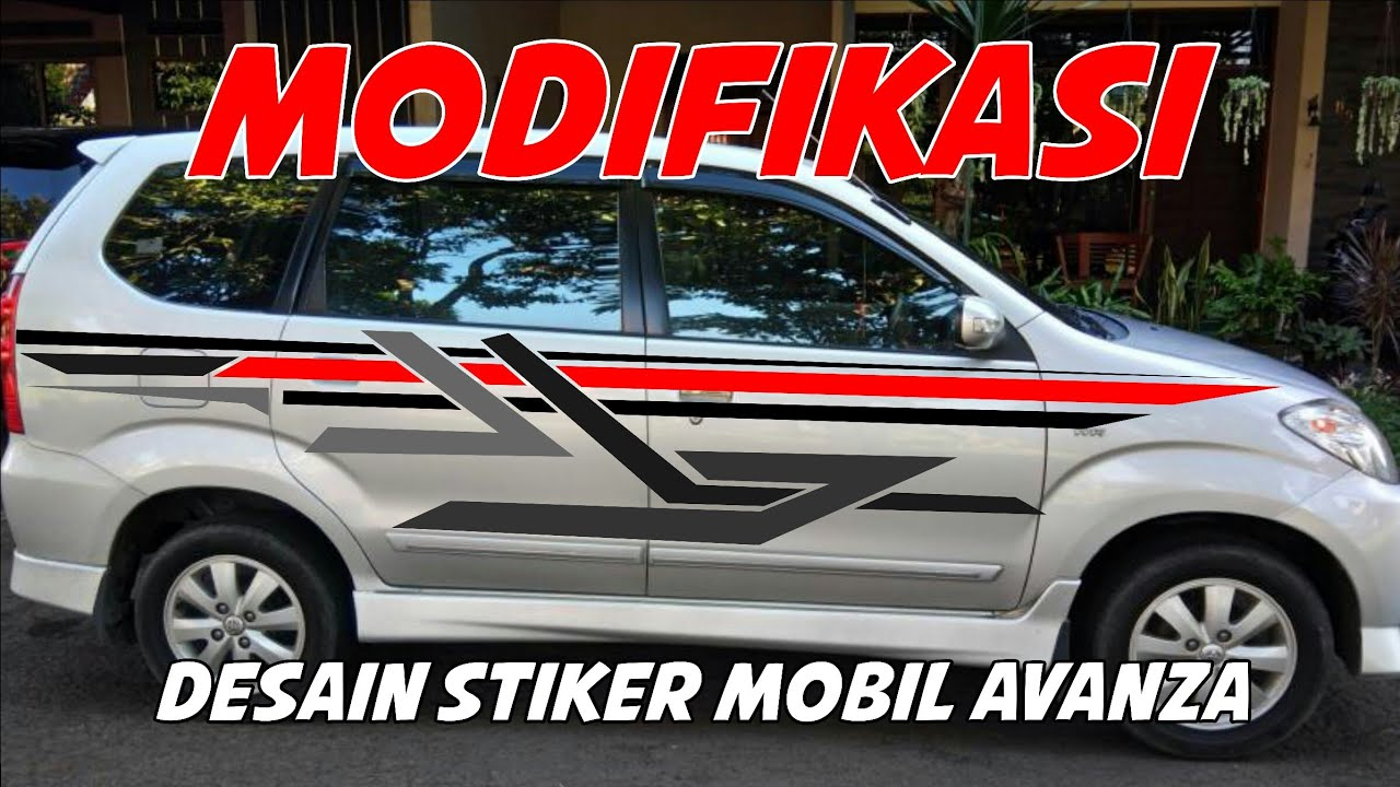 9200 Modifikasi Stiker Mobil Avanza All New HD Terbaru