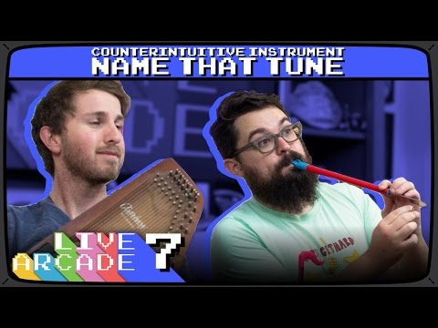 LIVE ARCADE #7 | Counterintuitive Instrument Name That Tune with Bryce Falcon