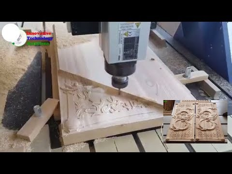 Awesome Technology CNC Router cutting the Wood dragon - innovative technology sloutions