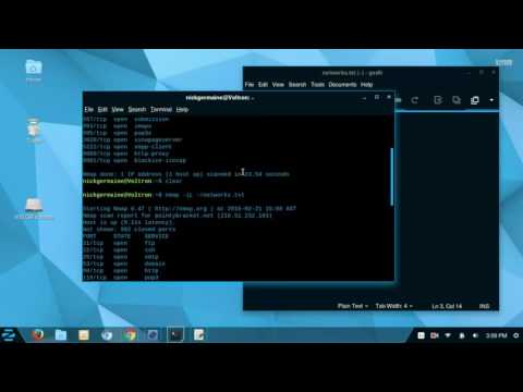 Find and Scan an IP Address using Kali Linux - Nmap, Zenmap, Nikto from YouTube · Duration:  8 minutes 33 seconds