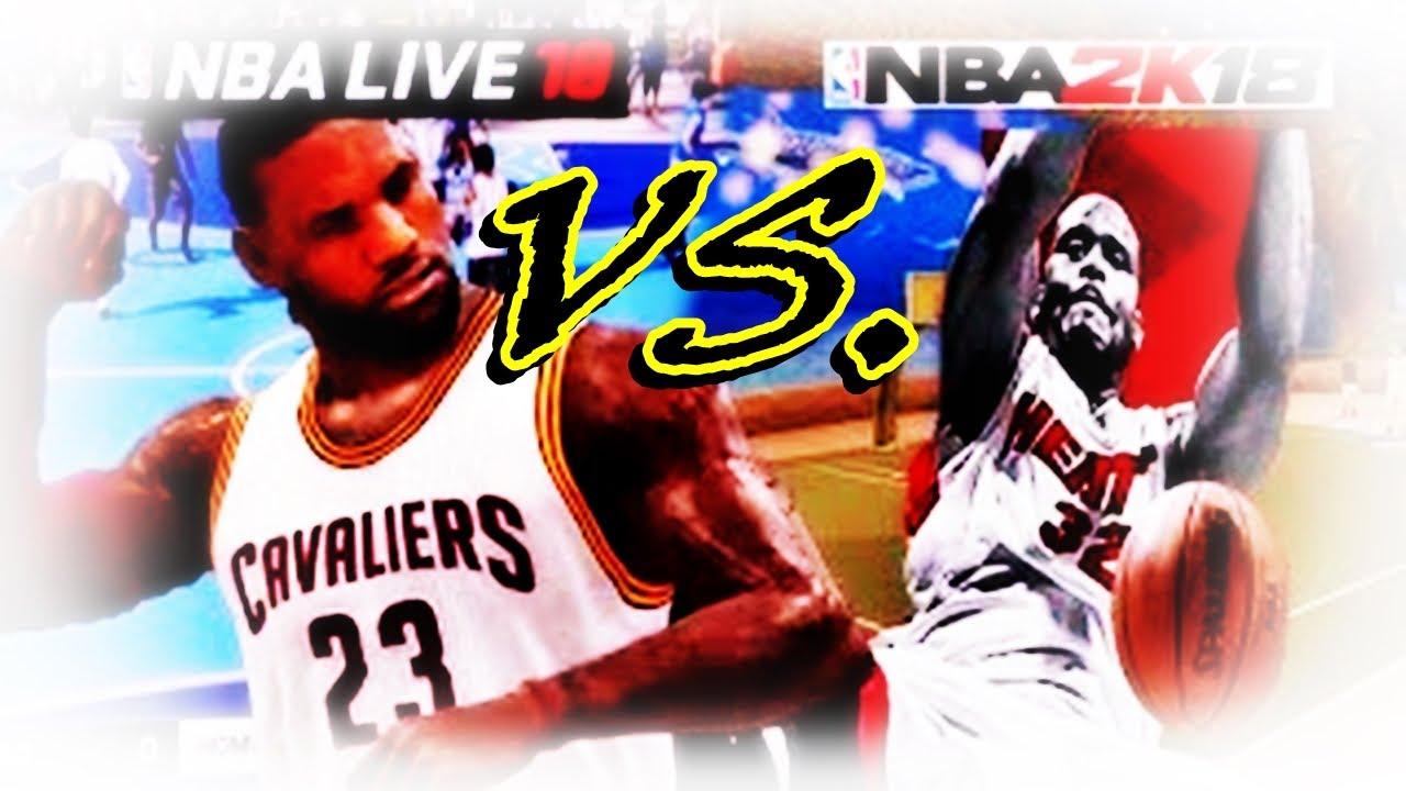 nba2k online_NBA 2K VS. NBA LIVE • WHO WINS? - YouTube