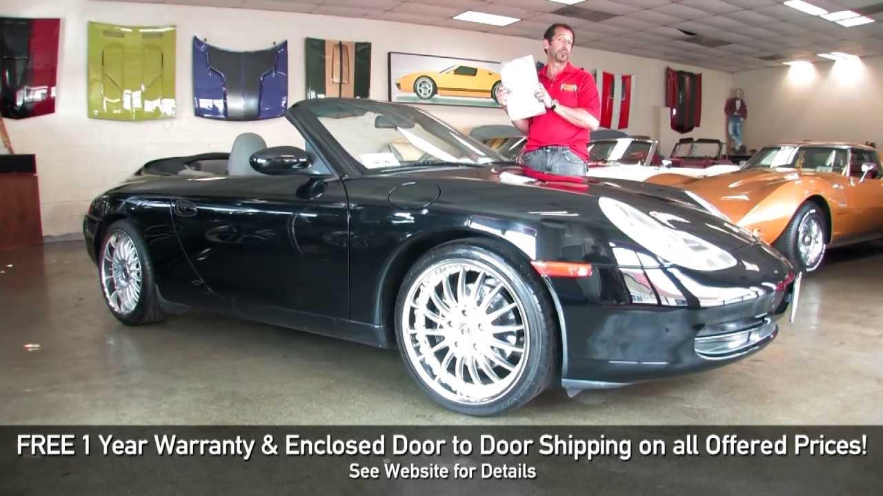 2000 Porsche 911 Carerra 2 Cabriolet 4 for sale with test drive, walk through video