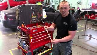 Warrensburg Collision Lean - Ryan's Toolbox Kaizen 2-second Lean (Lots of 2-second improvements)