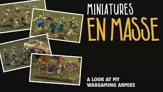 Miniatures en masse: A look at my wargaming armies
